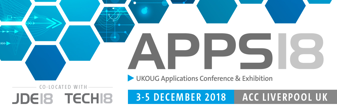 UKOUG Apps 18 Conference, Liverpool